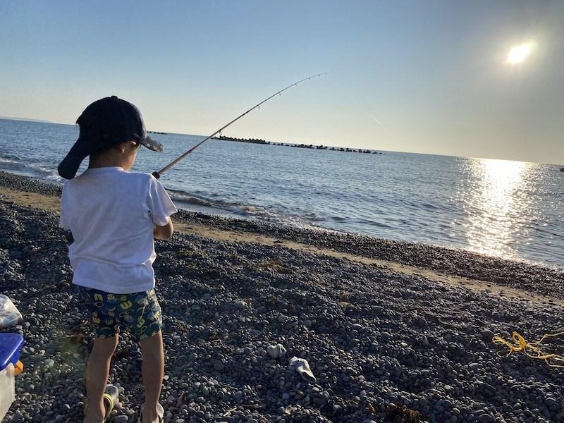 今年初のキス釣りに行ってきました